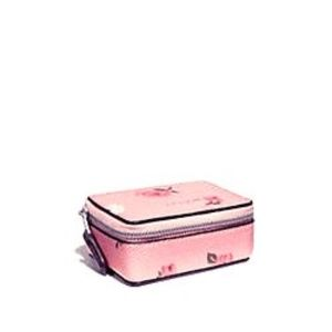 Coach Triple Pill Box with Tossed Peony Print